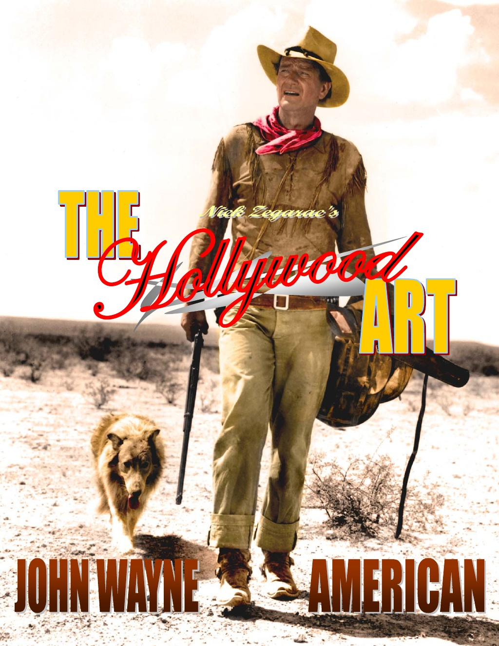 14 the hollywood art john wayne american 1 1024