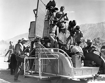 Camera Cars Paramount 1939 on location at Lone Pine California003