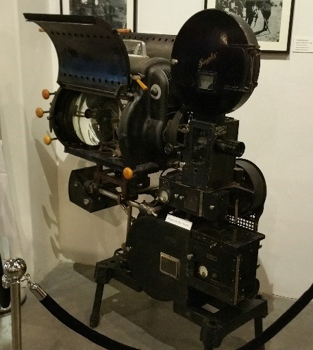 Implex Projector in Museum