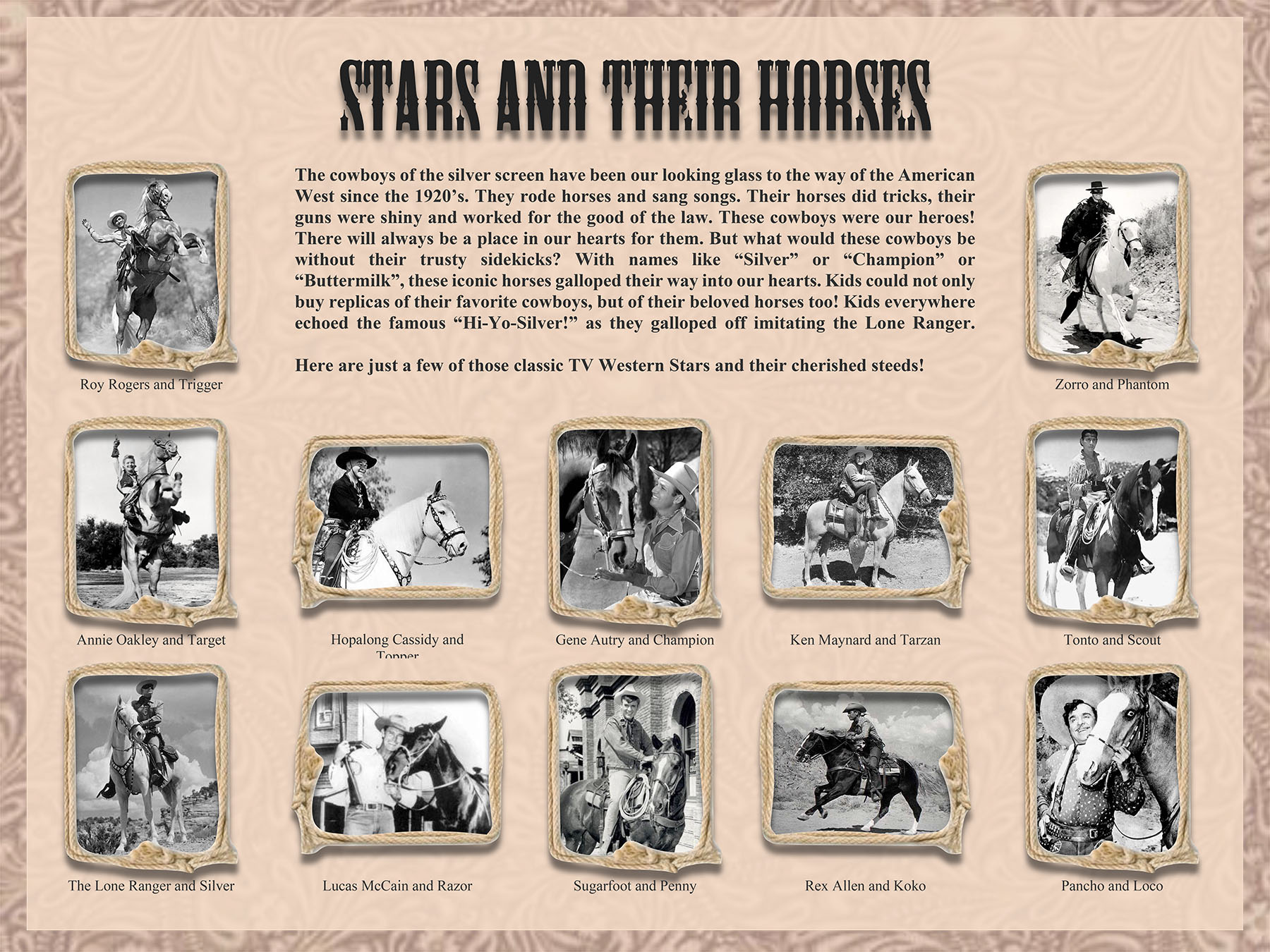TV Western Stars and Horses Poster Rev 2 24 2017 Landscape